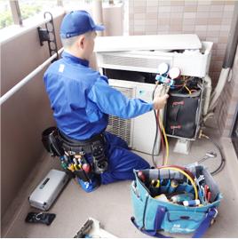 エアコン修理事業 - 地域特化型のエアコンの故障診断・故障修理事業